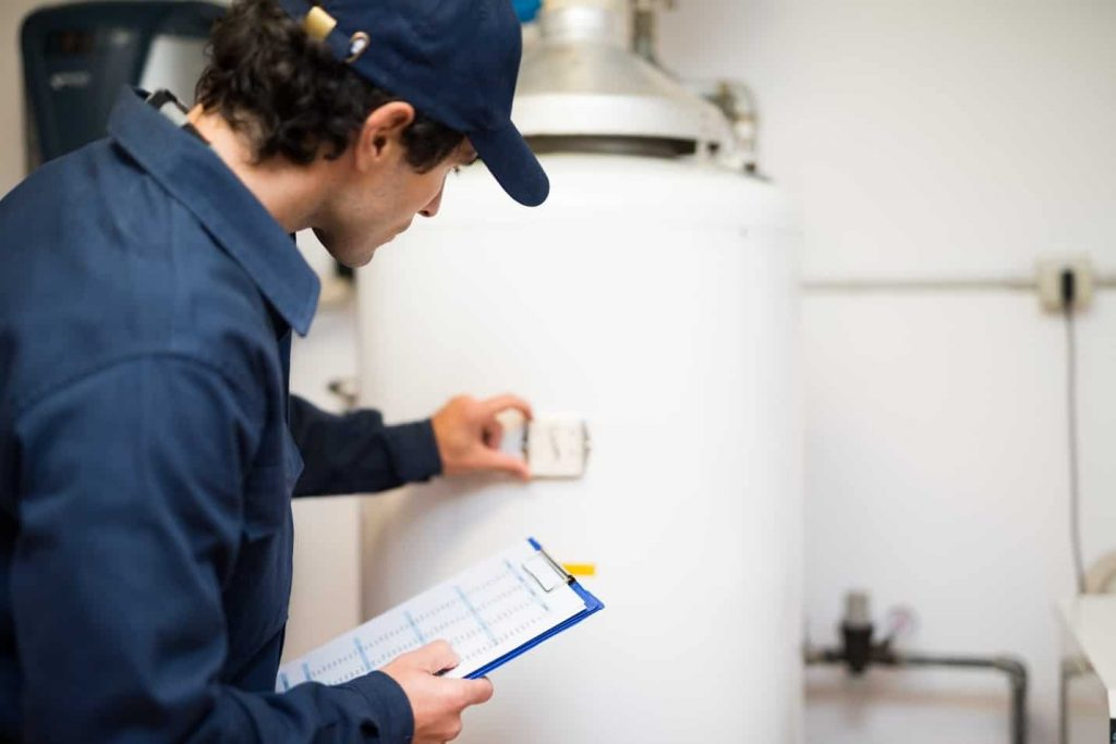 santa fe water heater repair