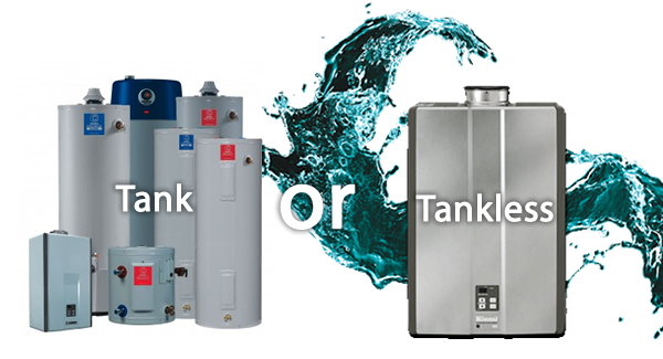 traditional vs. tankless water heaters | james plumbing and heating